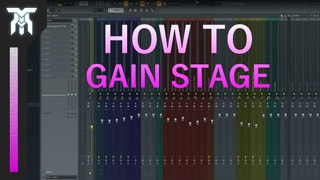 How To Use Gain Staging To Get A Better Mix