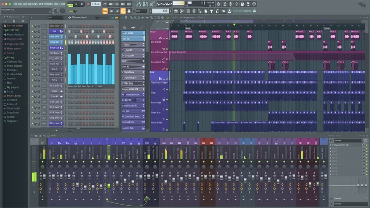 Image-line FL Studio 20. One of the best paid DAWs (Digital Audio Workstations).