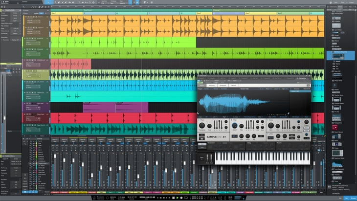 Presonus Studio One. One of the best paid DAWs (Digital Audio Workstations).