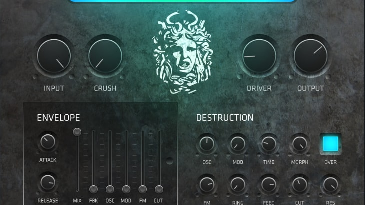 Gorgon. One of the best free audio distortion effect plugins.