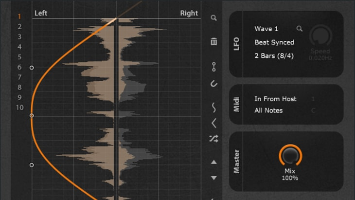 PanCake2. One of the best free stereo widening effect plugins.
