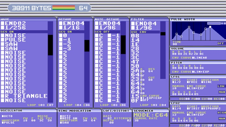 38911 Bytes VST (one of the best free chiptune synths)