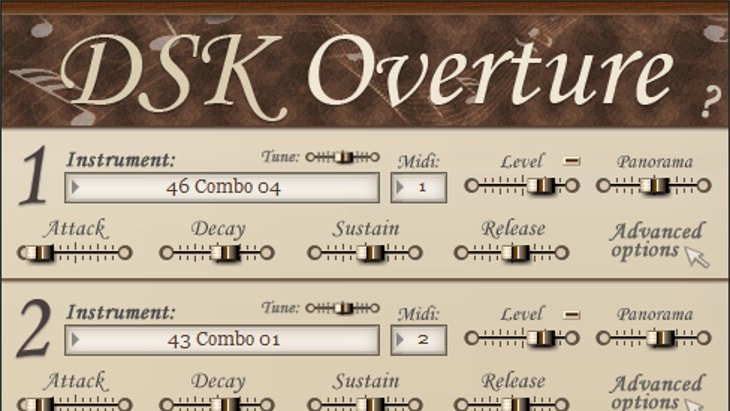 DSK Overture. One of the best free orchestral vsts