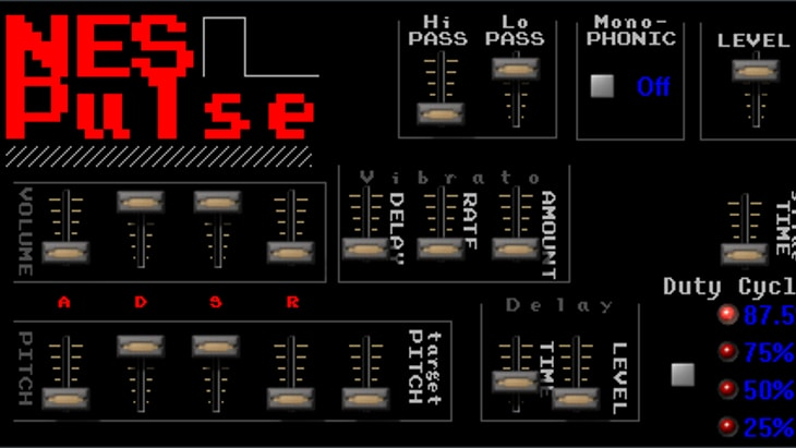 NES VST (one of the best free chiptune synths)