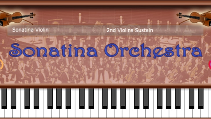 Sonatina Orchestra. One of the best free realistic instrument VST plugins.