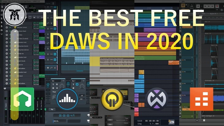 Best Free DAWs [Free Software to Make Music]