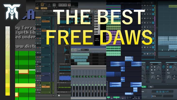Best Free DAWs for Music & Sound Design