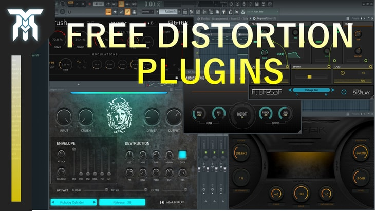 5 FREE Audio Distortion Effects for Windows & Mac