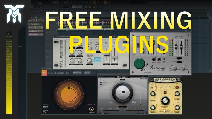 Best Free VST Effect Plugins For Mixing