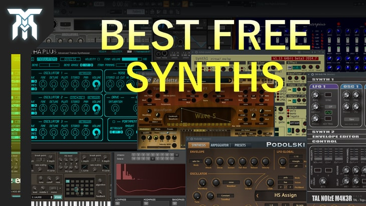 Best FREE Synth VST/AU Plugins